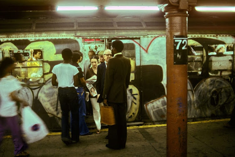 Willy Spiller nyc subway photos