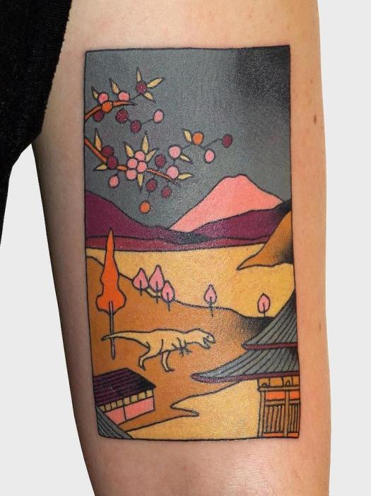 Japanese Tattoos Japanese Style Tattoos Japanese Woodblock Prints Brindi