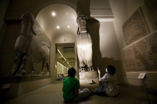 Museum Sleepovers British Museum London Night at the Museum