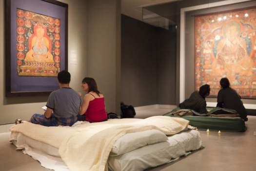 Museum Sleepovers Rubin Museum of Art New York Night at the Museum