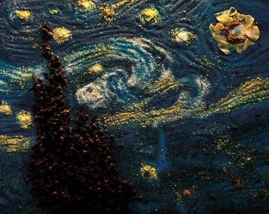 Van Gogh Starry Night Art Post-Impressionism Famous Paintings