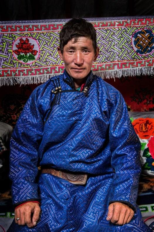 Tuvan Mongolian Man Alexander Khimushin