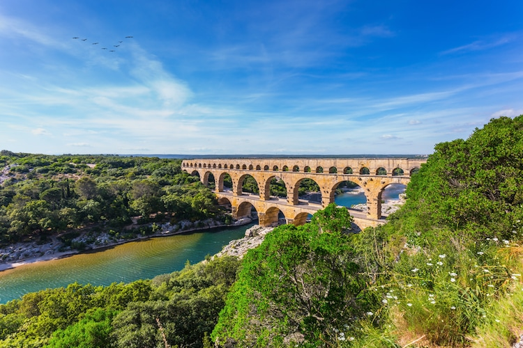 pont du gard roman architecture
