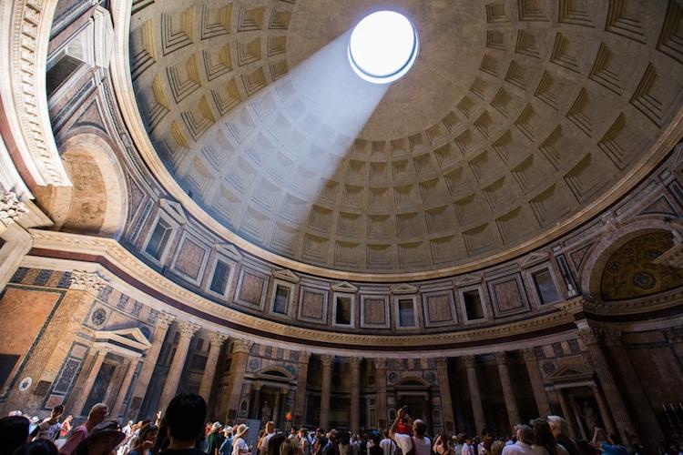 pantheon ancient roman architecture