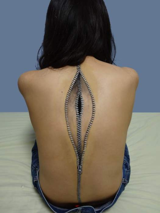 Hikaru Cho Body Art Illusion Art