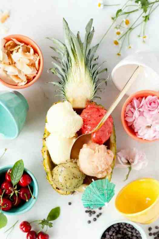 Pineapple Bowl Recipes Party Platter