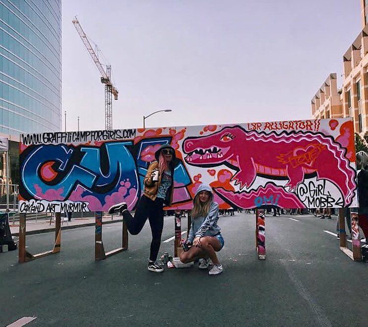 Graffiti Lessons For Teen Girls Helps Empower A New