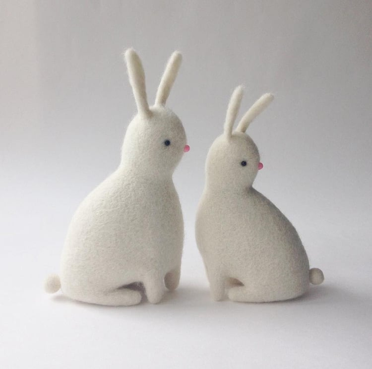 Felt Sculpture Pairs Of Animals And Foods Prove Theyre A
