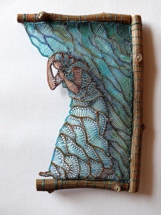 Lace Sculptures by Ágnes Herczeg