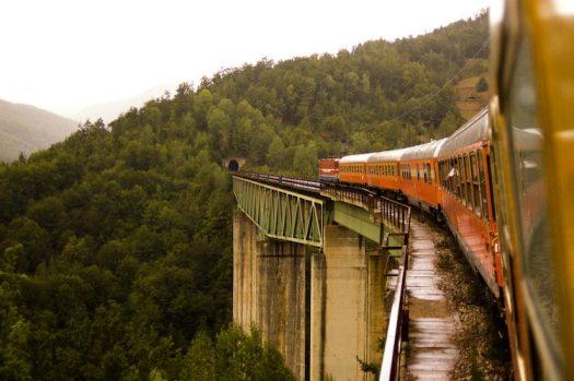 National Geographic Traveler Scenic Train Rides