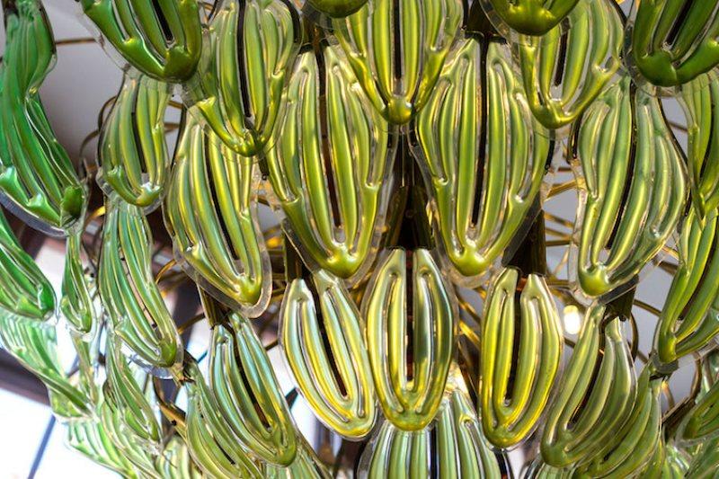 algae chandelier julian melchiorri
