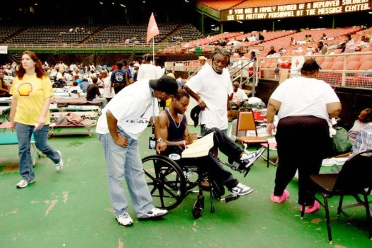 Disaster Relief in Houston For Hurricane Katrina
