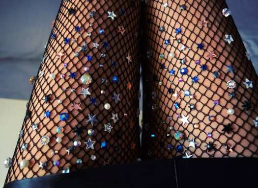 Mermaid Tights Fishnet Tights Lirika Matoshi