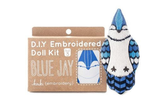 Animal Embroidery Doll Kits Kiriki Press