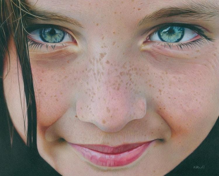 Color Pencil Art Eyes