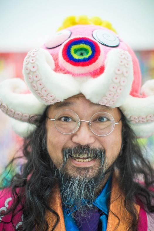 Takashi Murakami portrait