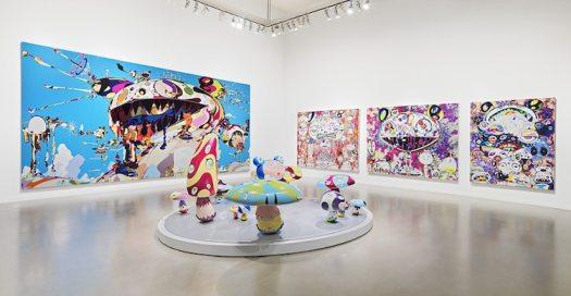 Takashi Murakami exhibition Vancouver Art Gallery