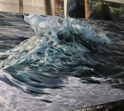 Seascape Paintings Wave Paintings Wave Painting Phoebe Sonder Art