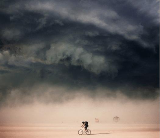 Surrealism Photography Victor Habchy Paris Streets Burning Man Photos