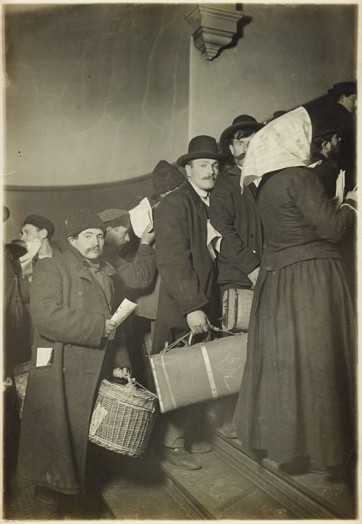 Ellis Island Photography by Lewis Hine