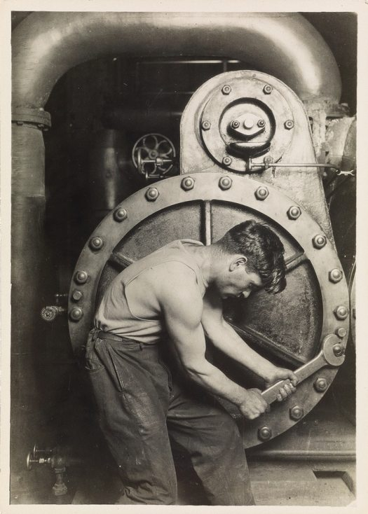 Factory Worker by Lewis Hine