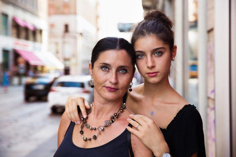 Mother and daughter by Mihaela Noroc
