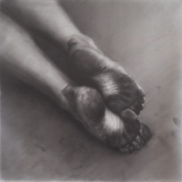 Graphite Drawing by Maria Kreyn
