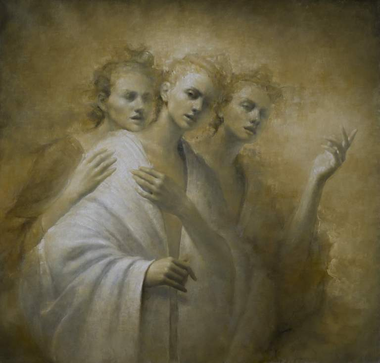 Painting by Maria Kreyn