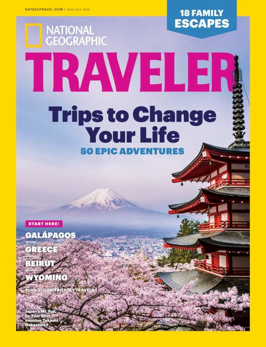 National Geographic Traveler - Your Shot Cover