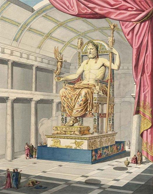 Statue of Zeus Ancient Wonder
