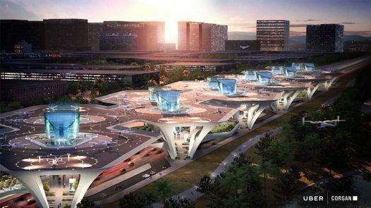UberAIR Skyport Concept