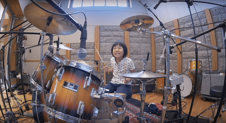Drumming Girl Child Prodigy Yoyoka Soma