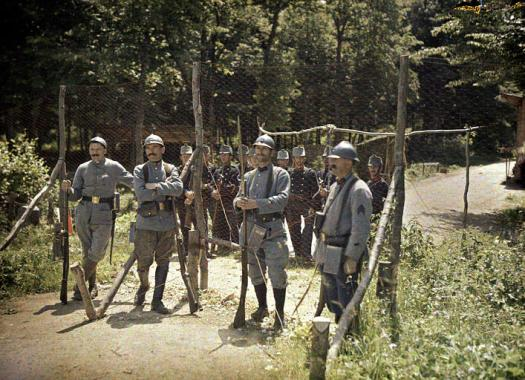 World War I Color Photography
