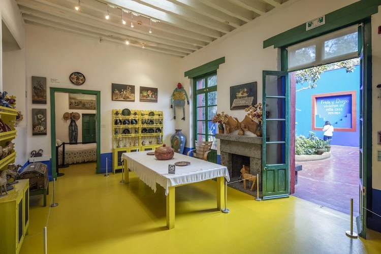 How La Casa Azul Frida Kahlos Blue House Became The
