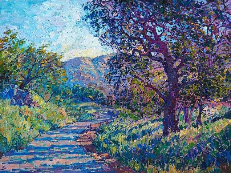 Vivid Contemporary Landscape Paintings Depict Americas