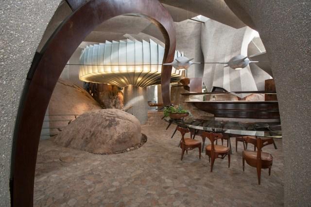 Kendrick Bangs Kellogg - High Desert House Interior by John Vugrin