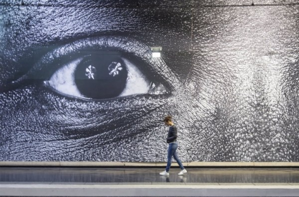 Street Artist JR Takes Over the Paris Metro with His ...