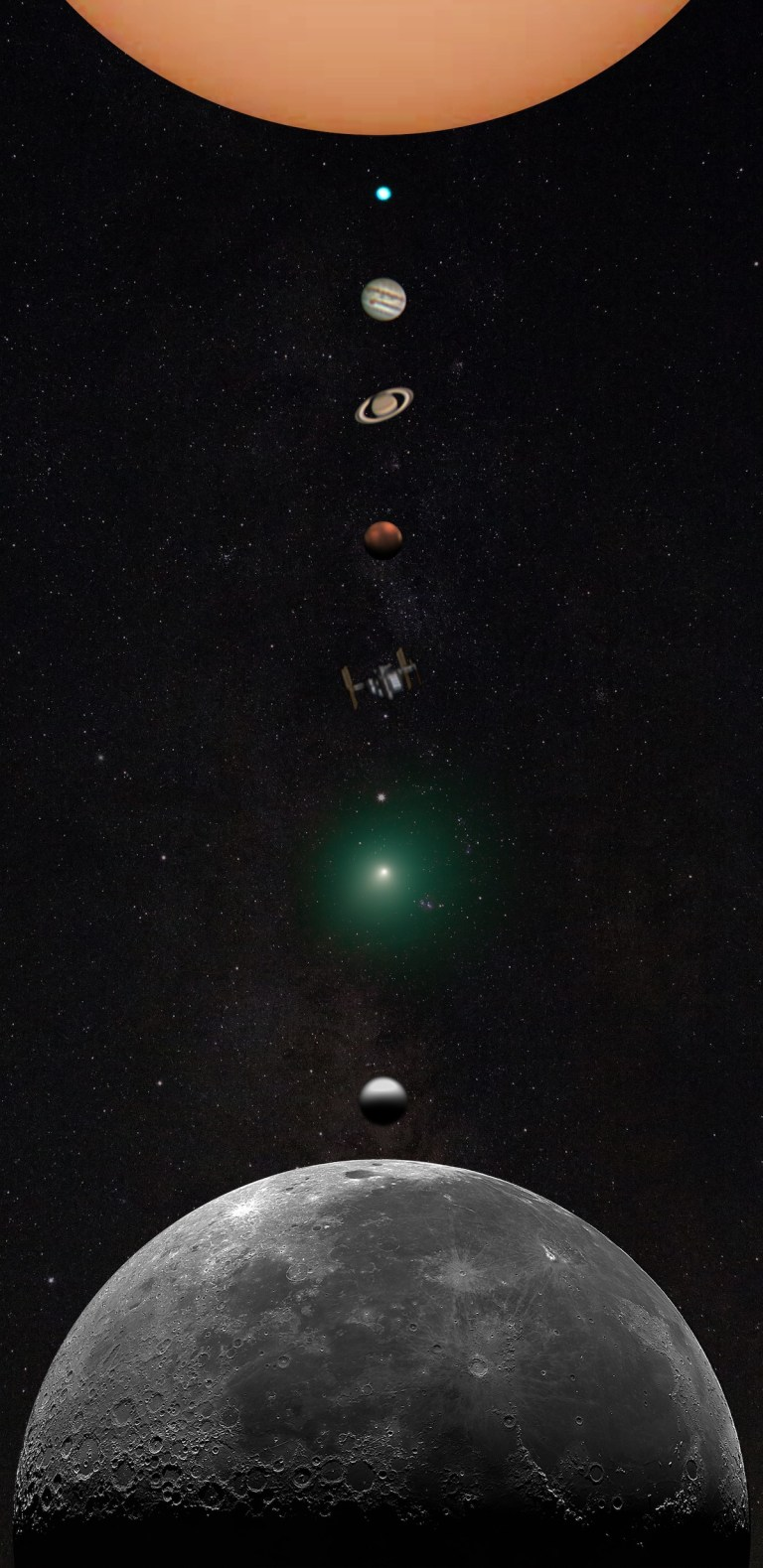Andrew McCarthy Astrophotography - Solar System Composite