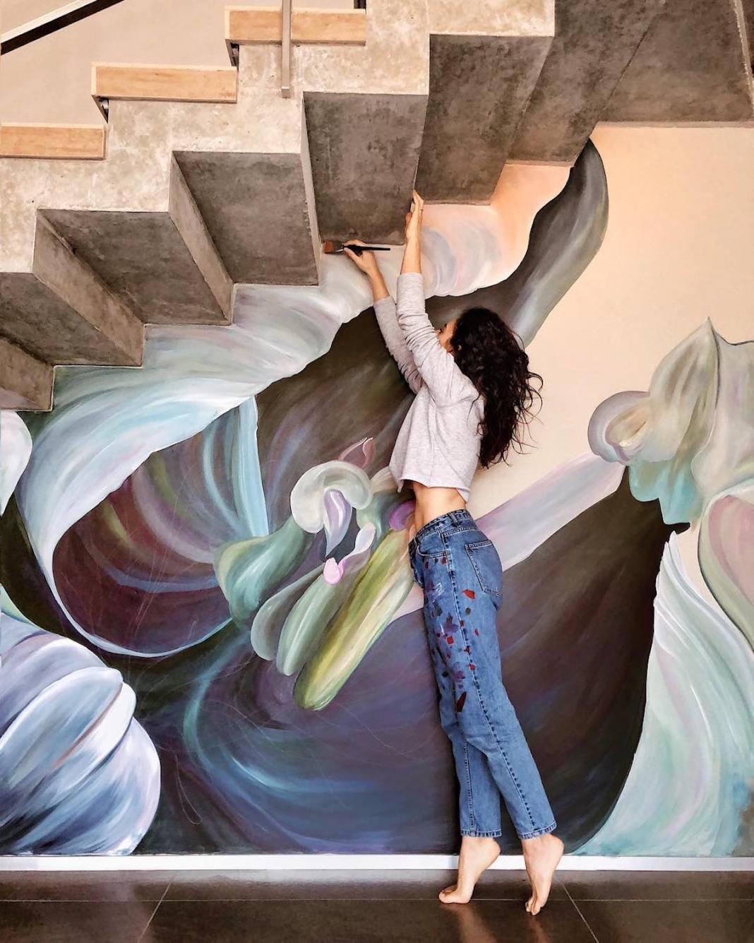 Wall Mural Art by Lilit Sargsyan