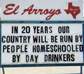 el-arroyo-signs-5 New Discoveries in Old Austin Austin Texas
