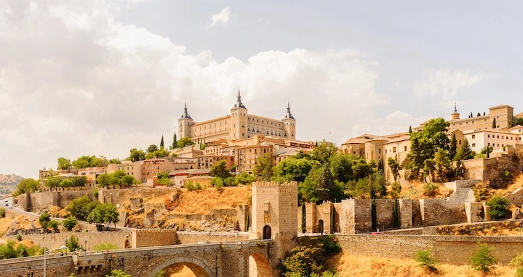Toledo, Spain City From Medieval Times