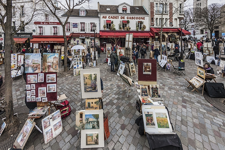 Montmartre Artists Paris