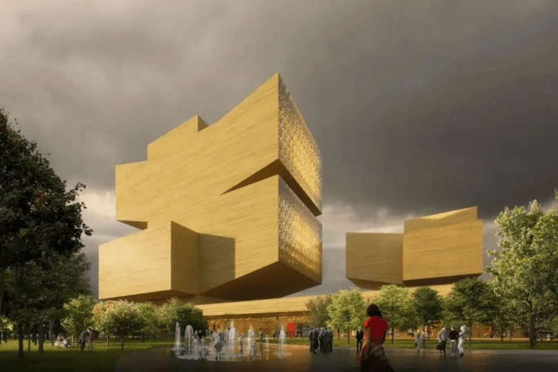 REX Architecture Entry - Jean Nouvel Wins Design Competition for Shenzhen's New Opera House