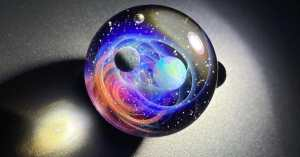 This Galactic Inspirational Glass Art Is Outside This World