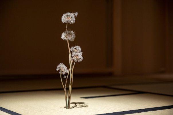 Metal Dandelion Sculptures by Shota Suzuki