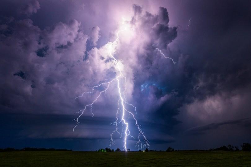 Lightning by Mike Oblinski