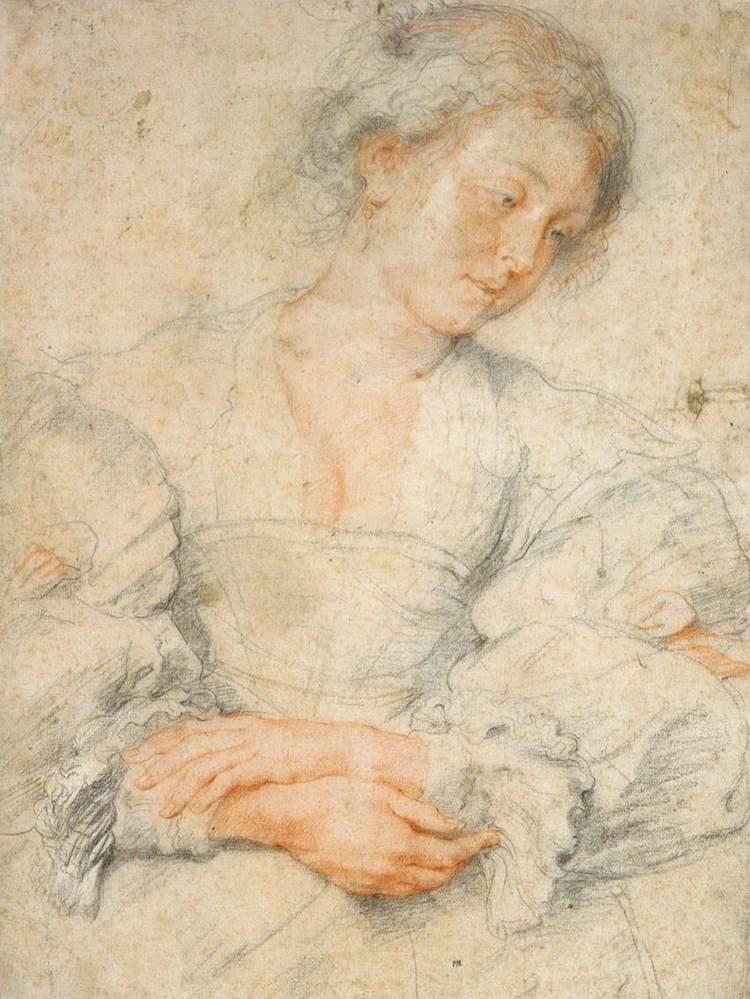 Figure Drawing by Peter Paul Rubens