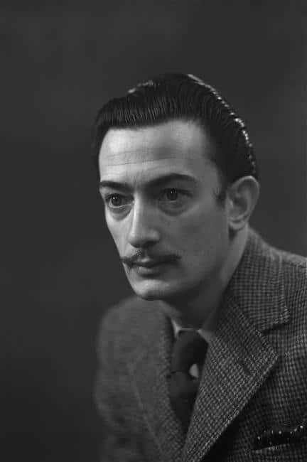 Salvador Dali Photograph Portrait