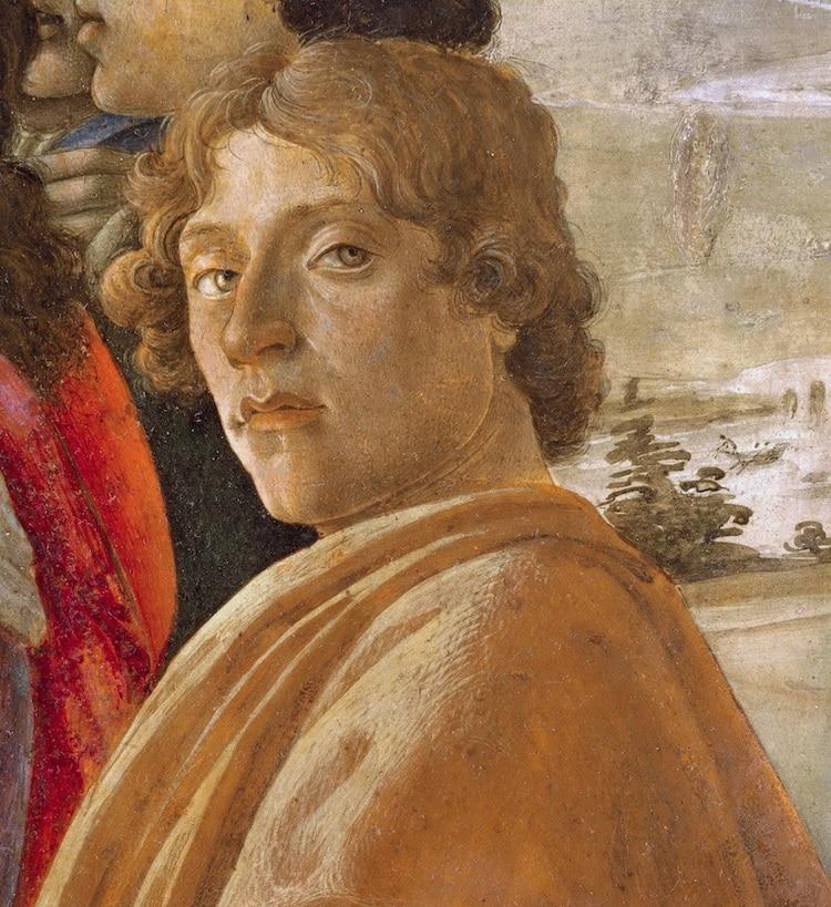Sandro Botticelli Self-Portrait