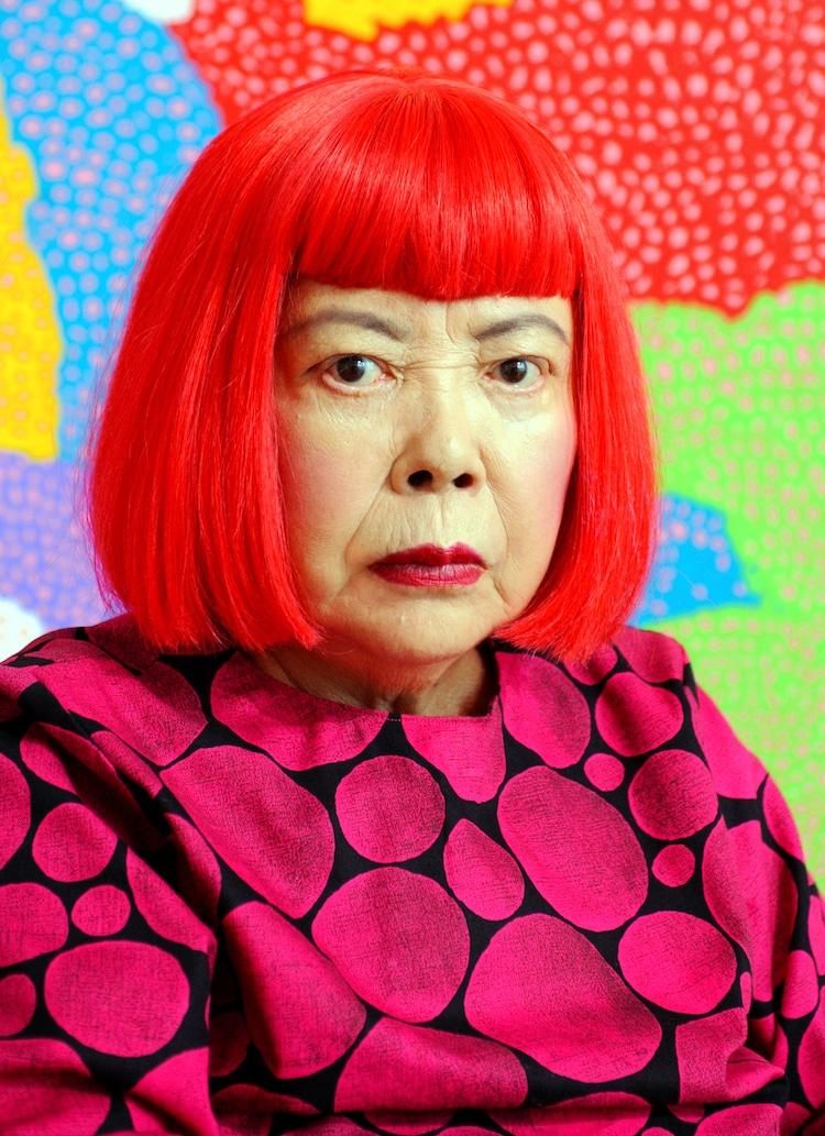 Yayoi Kusama Photograph